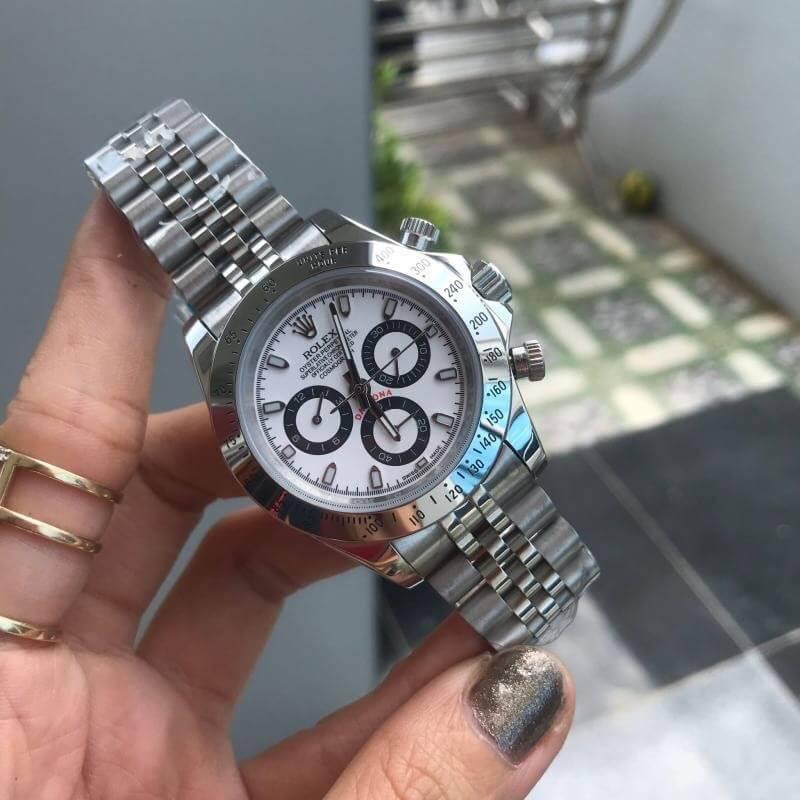 Rolex Daytona White Dial 40mm Jubilee