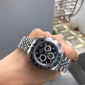 Rolex Daytona Black Dial 40mm Jubilee