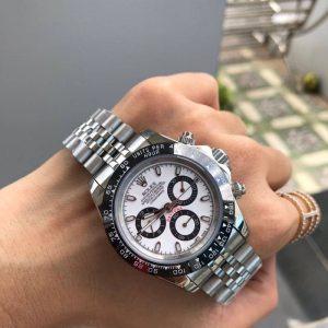 Rolex Daytona White Dial สาย Jubilee ก๊อปเกรดA