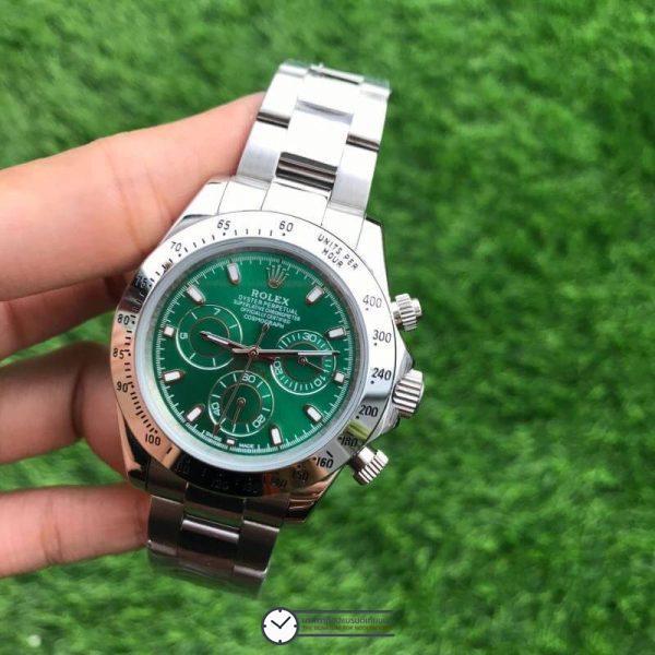 Rolex Daytona Green Dial 40mm, ก๊อปเกรดa, หน้าปัดเขียว