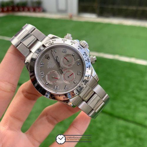 Rolex Daytona Grey Dial 116509, ก๊อปเกรดa, หน้าปัดเทา