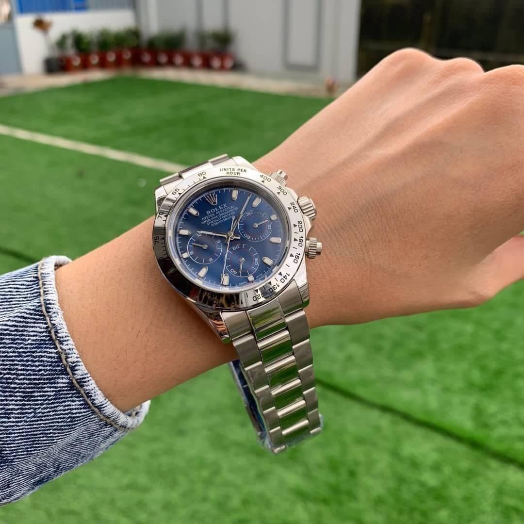 Rolex Daytona Blue Dial 40m