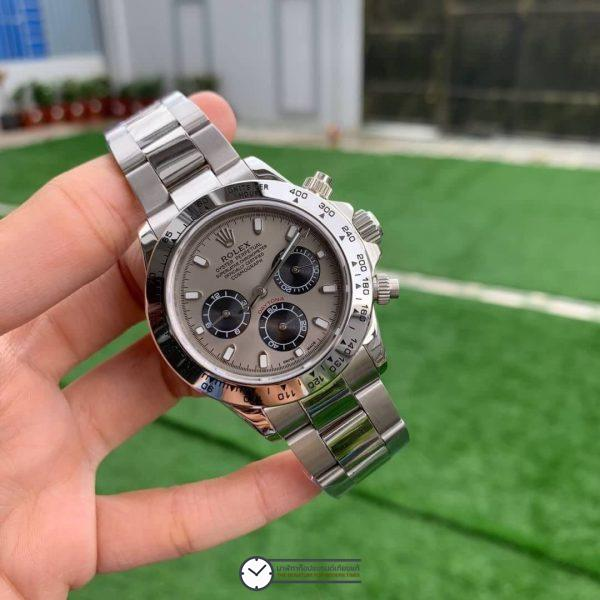 Rolex Daytona 116509 Grey Dial 40mm, ก๊อปเกรดa, หน้าปัดเทา
