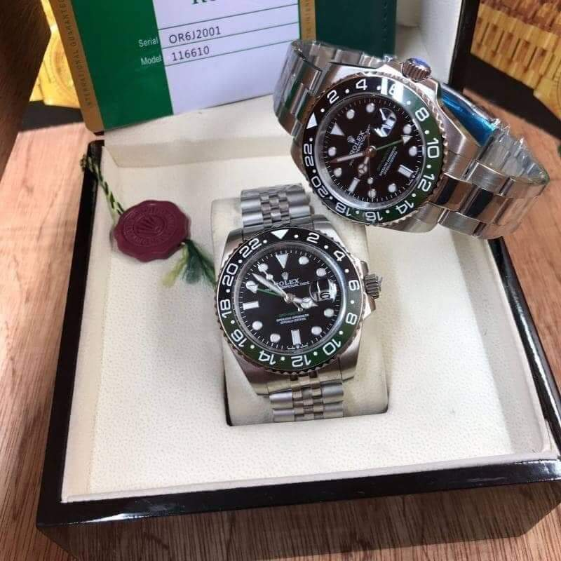 Rolex GMT-Master II Black and Green ก๊อปเกรดA