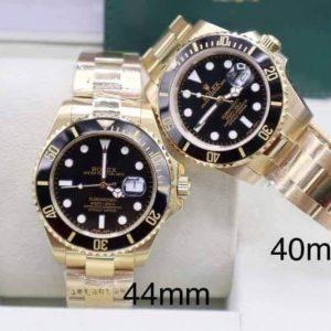 Rolex Submariner Yellow Gold Black Dial
