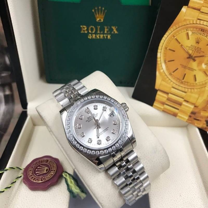 Rolex datejust 28-31mm Gray Dial Jubilee