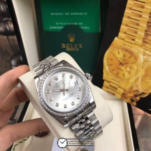 Rolex datejust 28-31mm Diamond Grey Dial Jubilee