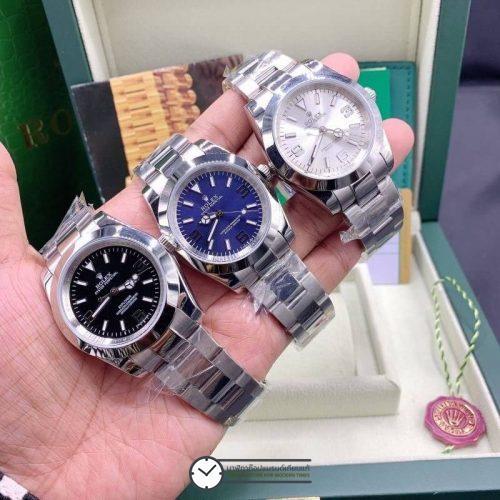 Rolex Explorer (Black,Blue,White) 39mm automatic men's Watch, โรเล็กซ์เอกซ์โปลเรอร์ก๊อป 39mm