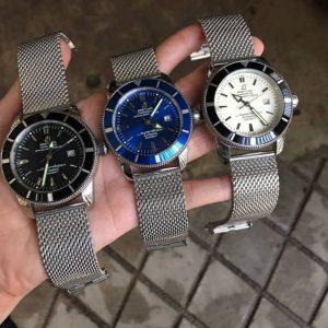Breitling Superocean Heritage, Blue,Black, White