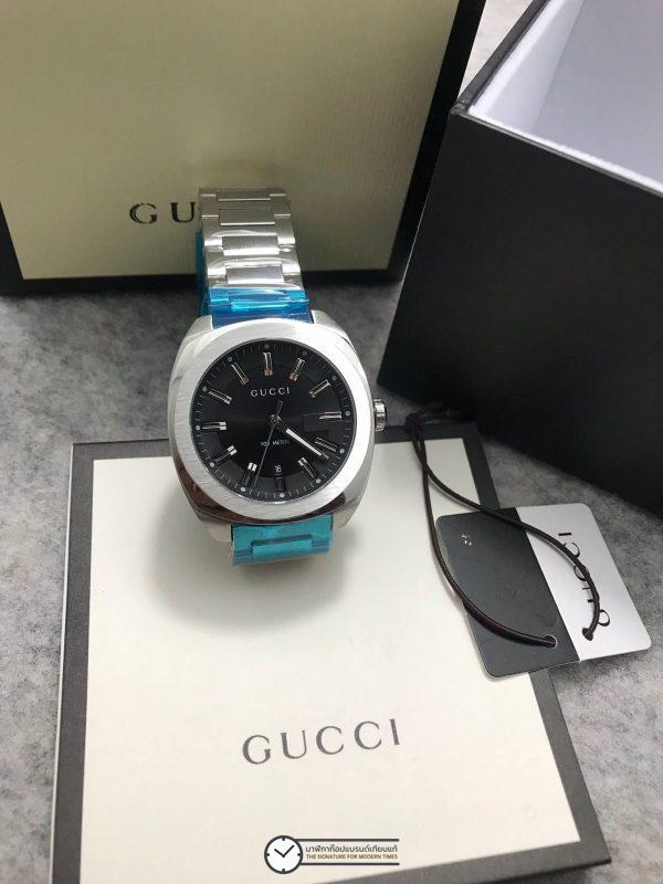 Gucci 100meter men's Watch Black Dial GG2570 ก๊อปสายเลส