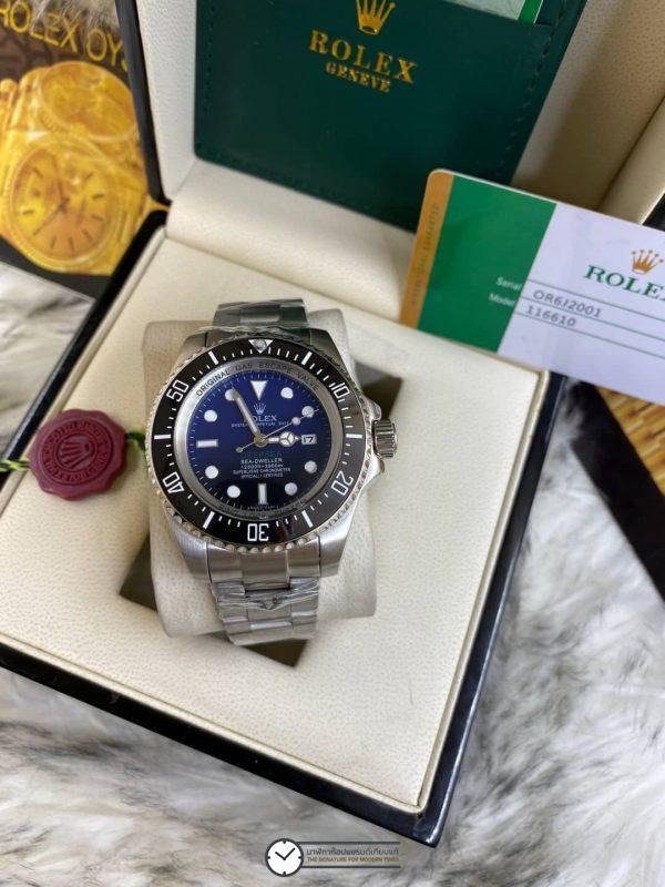 Rolex Deep Sea Blue Dial ก๊อปเกรดA