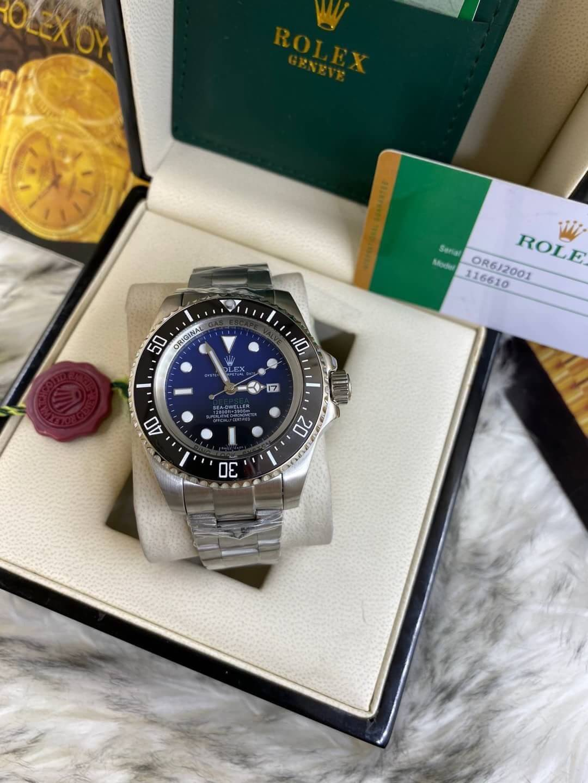 Rolex Deep Sea Blue Dial, ก๊อปหน้าปัดน้ำเงิน