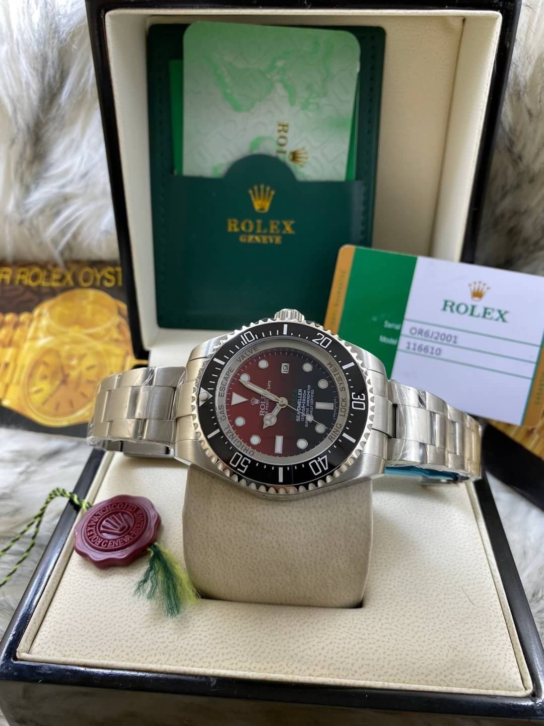 Rolex Deep Sea Red Dial