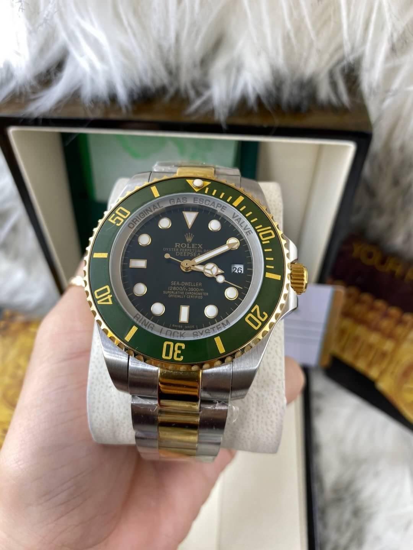 Rolex Deep Sea Green Dial Two-Tone