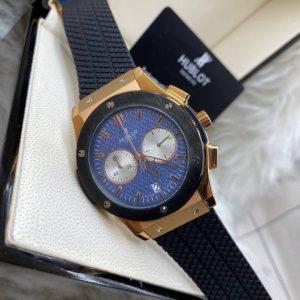 Hublot Classic Fusion Rose Gold 42 mm Blue Dial