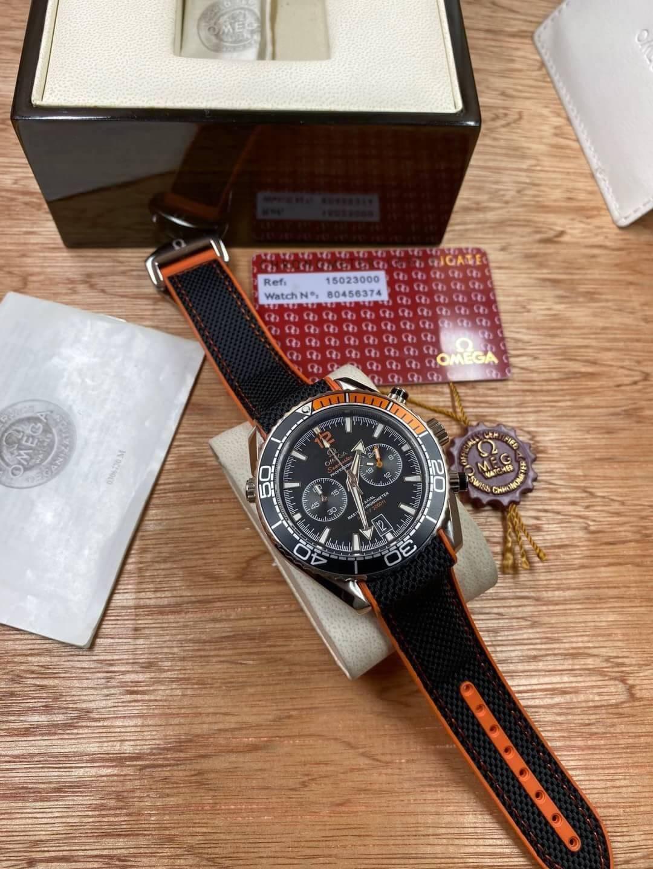 Omega Seamaster Planet Ocean 600M nylon wrist band