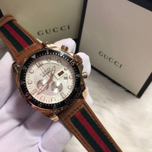 Gucci Sport Rose Gold White Dial Men's Watch
