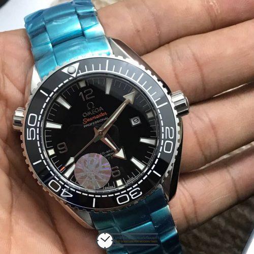 Omega seamaster Planet Ocean 600M CO‑AXIAL 42 mm Black Dial, ก๊อป
