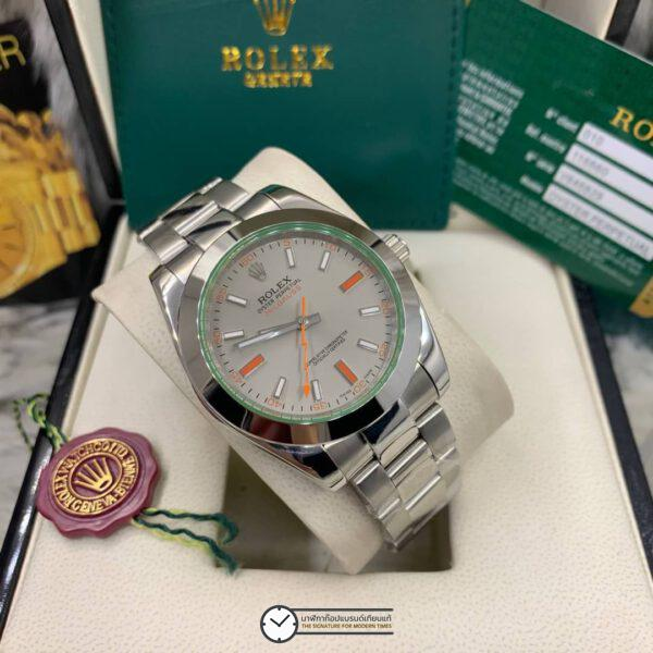 Rolex Milgauss 40mm Gray Dial Automatic Men's watch, โรเล็กซ์มิลกลาสก๊อป, หน้าปัดเทา