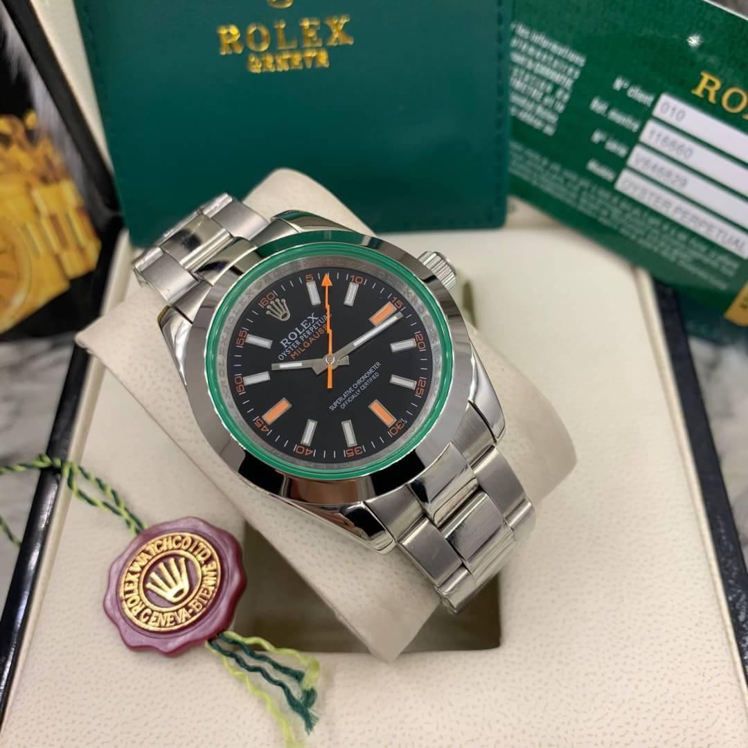 Rolex Milgauss 40mm Black Dial Automatic Men's watch