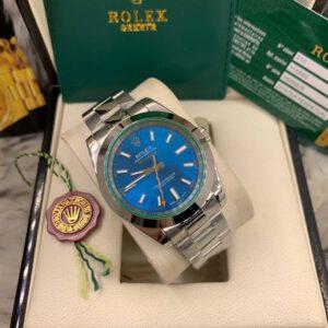 Rolex Milgauss 40mm Blue Dial Automatic Men's watch