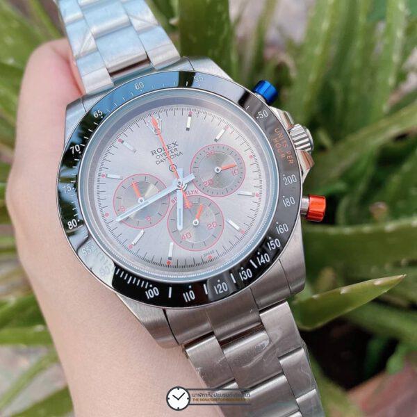 Rolex Daytona Gray Dial 44mm Automatic Watch ก๊อปหน้าปัดเทา