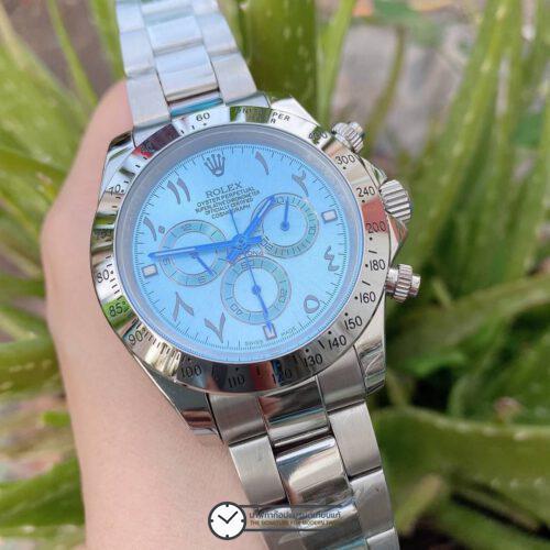 Rolex Daytona Blue Dial 44mm Automatic Watch ก๊อปผู้ชาย