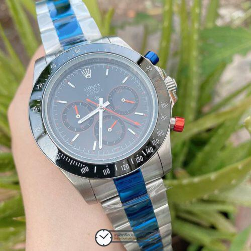 Rolex Daytona Black Dial 44mm Automatic Watch ก๊อป