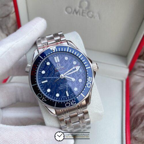 Omega Seamaster 300M James Bond 50th Anniversary Blue Dial, ก๊อปหน้าปัดน้ำเงิน