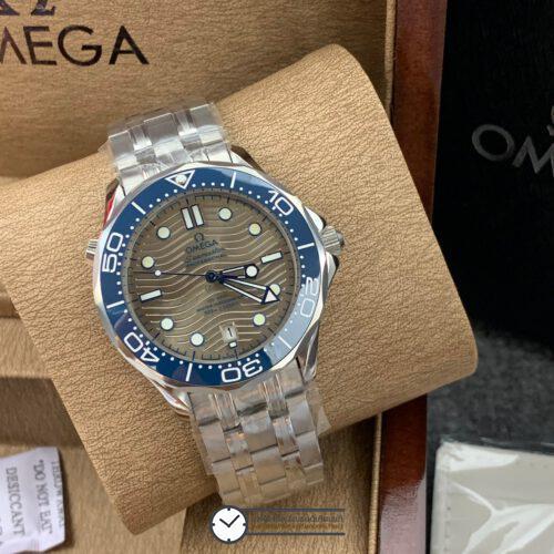 Omega Seamaster Diver 300M Omega Master Co-Axial Grey Dial 42 mm, ก๊อปหน้าปัดเทา