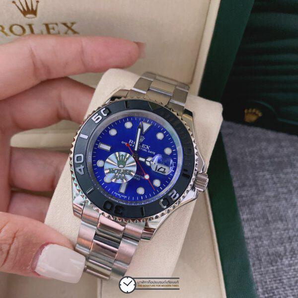 Rolex Yacht-Master 40mm Blue Dial Automatic Men's Watch, ก๊อปหน้าปัดน้ำเงิน