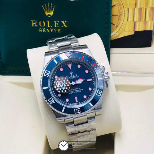 """Rolex Submariner Artisans de Genève """"Rough Matt Diver"""" 40mm, ก๊อปหน้าปัดน้ำเงิน"""